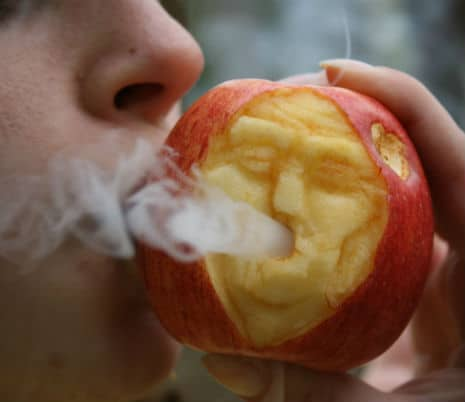 , Make Your Own Apple Pipe