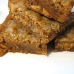 Butterscotch Cannabis Blondies