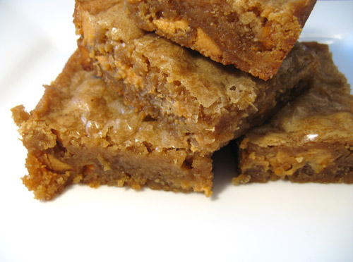 cherry blondies butterscotch blondies salted butterscotch blondies ...