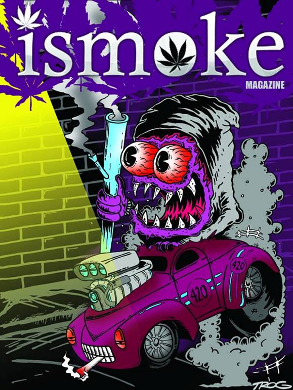 , New ISMOKE Art by TROG