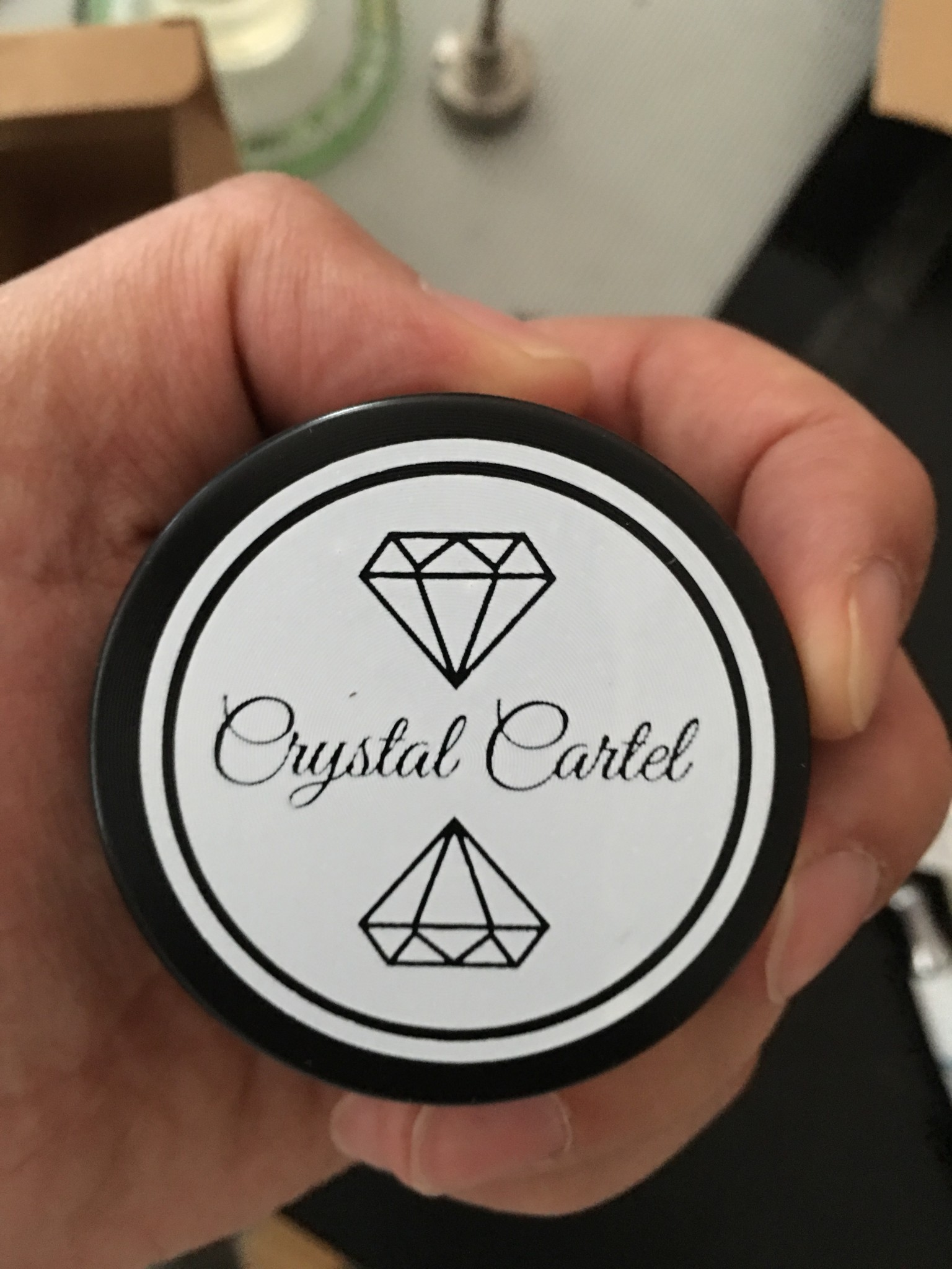 Crystal Cartel Grinder