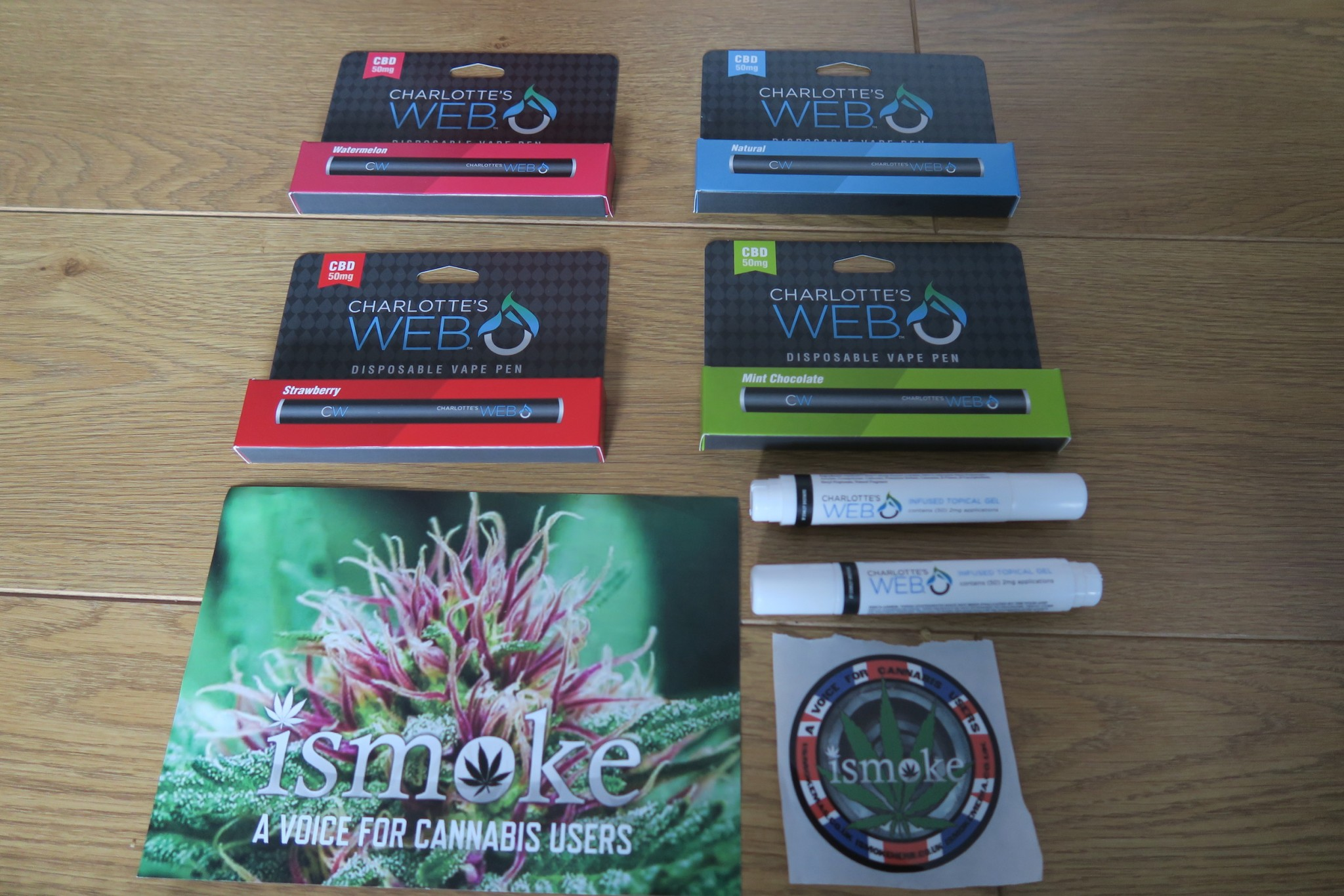 , Charlotte's Web Vape Pens & Topical Infused Gel UKCBD Review