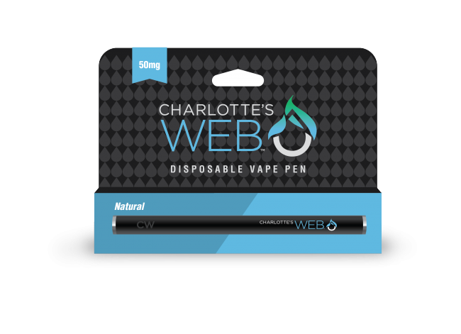 Disposable Charlotte's Web CBD Vape Pen