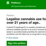 Petition to Legalise Cannabis Use for Adults Over 21 Years ..