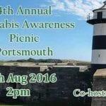 Upcoming Cannabis Awareness Picnic, Portsmouth