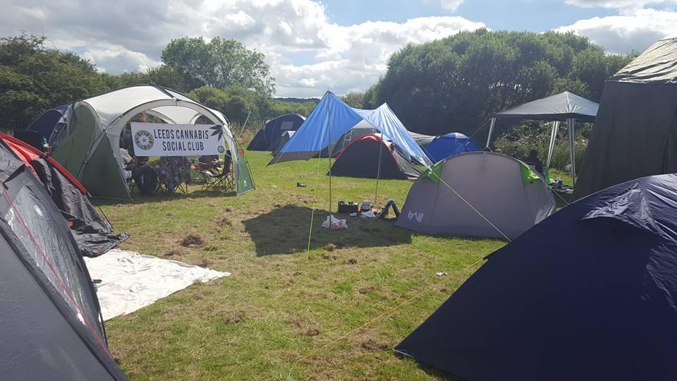 Leeds Cannabis Social Club at Canna Camp Fest 2016