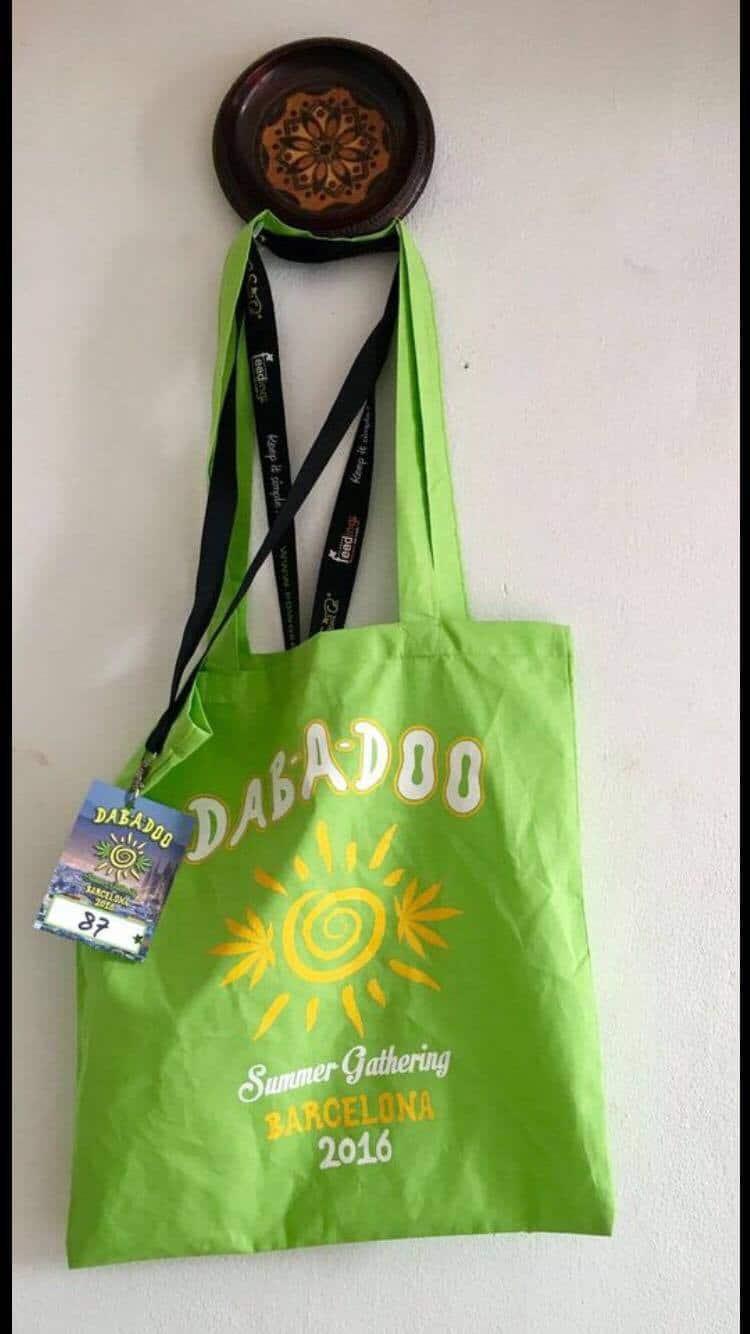 Judges' Bag at Dabadoo 2016