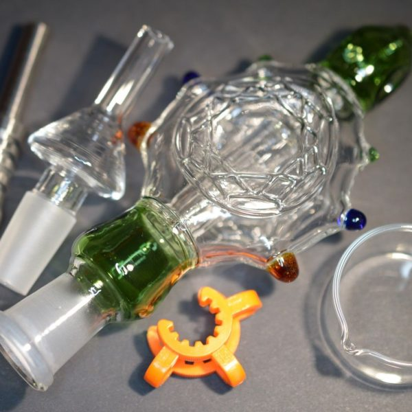Our Nectar Collector Set from dabrig.co.uk. Great way to consume cannabis extract!