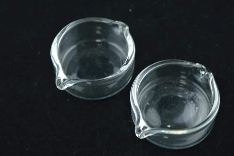 Glass dishes for nectar collectors
