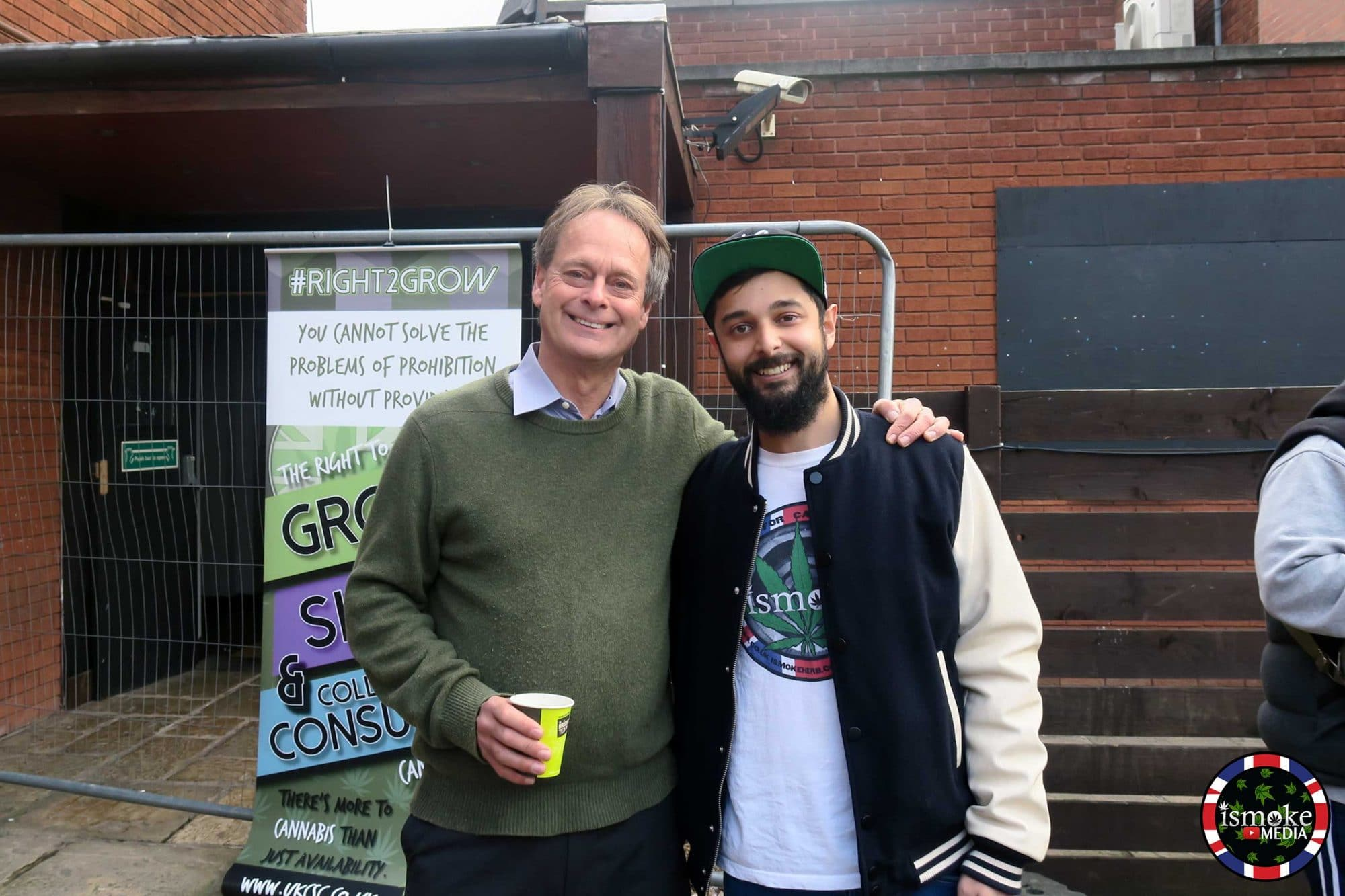 Marc Emery and Tyler Green
