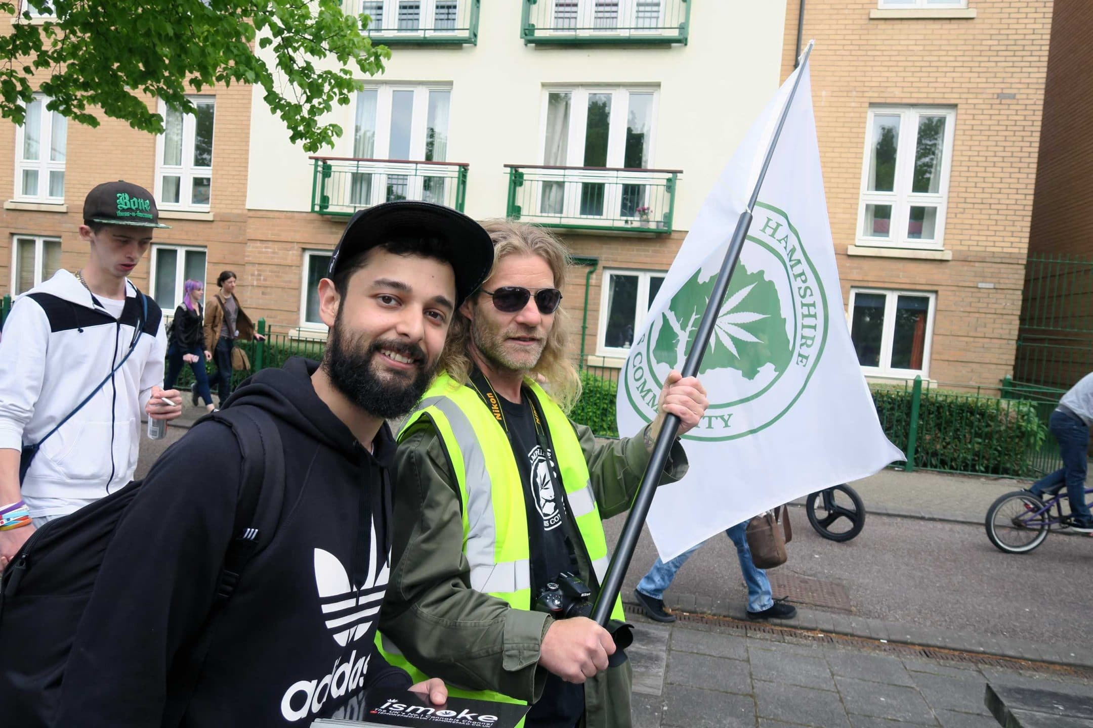 Cardiff Global Cannabis March 2017, We attended the Cardiff Global Cannabis March 2017