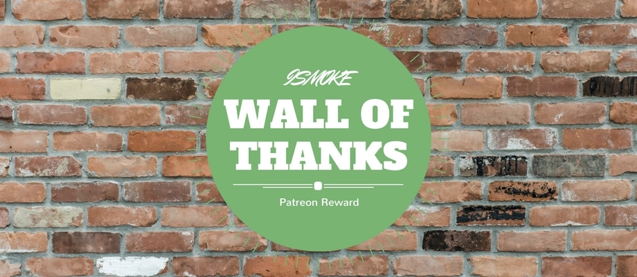 Want to get your name on our Wall of Thanks? Click here