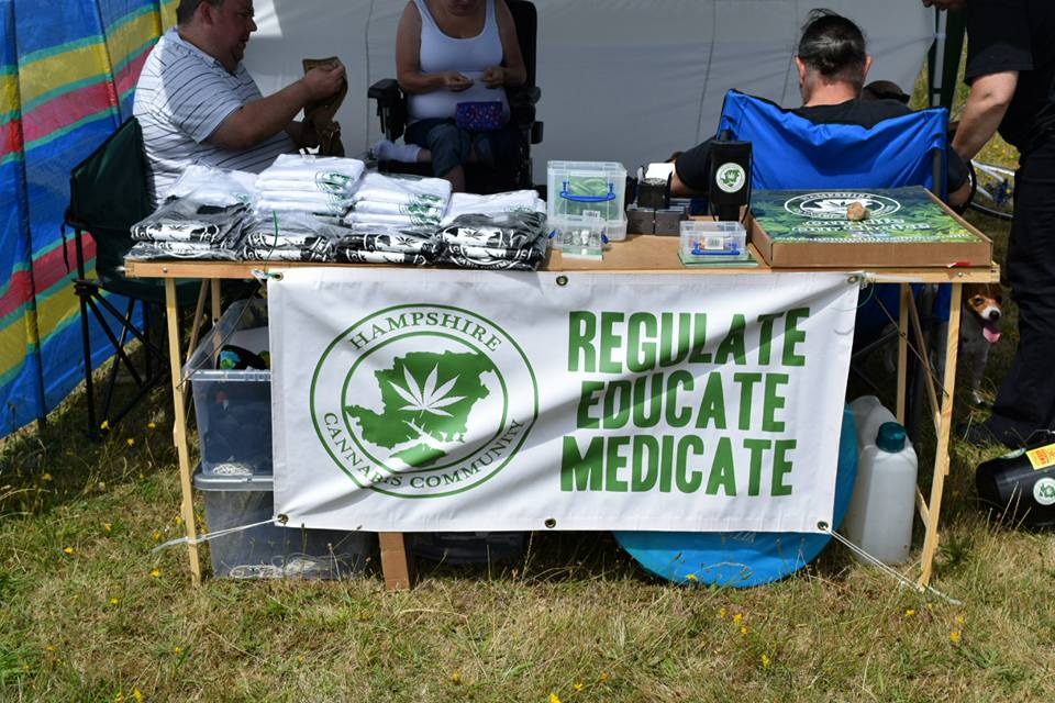 , We Went Down To Hampshire Cannabis Community Beach BBQ in Portsmouth