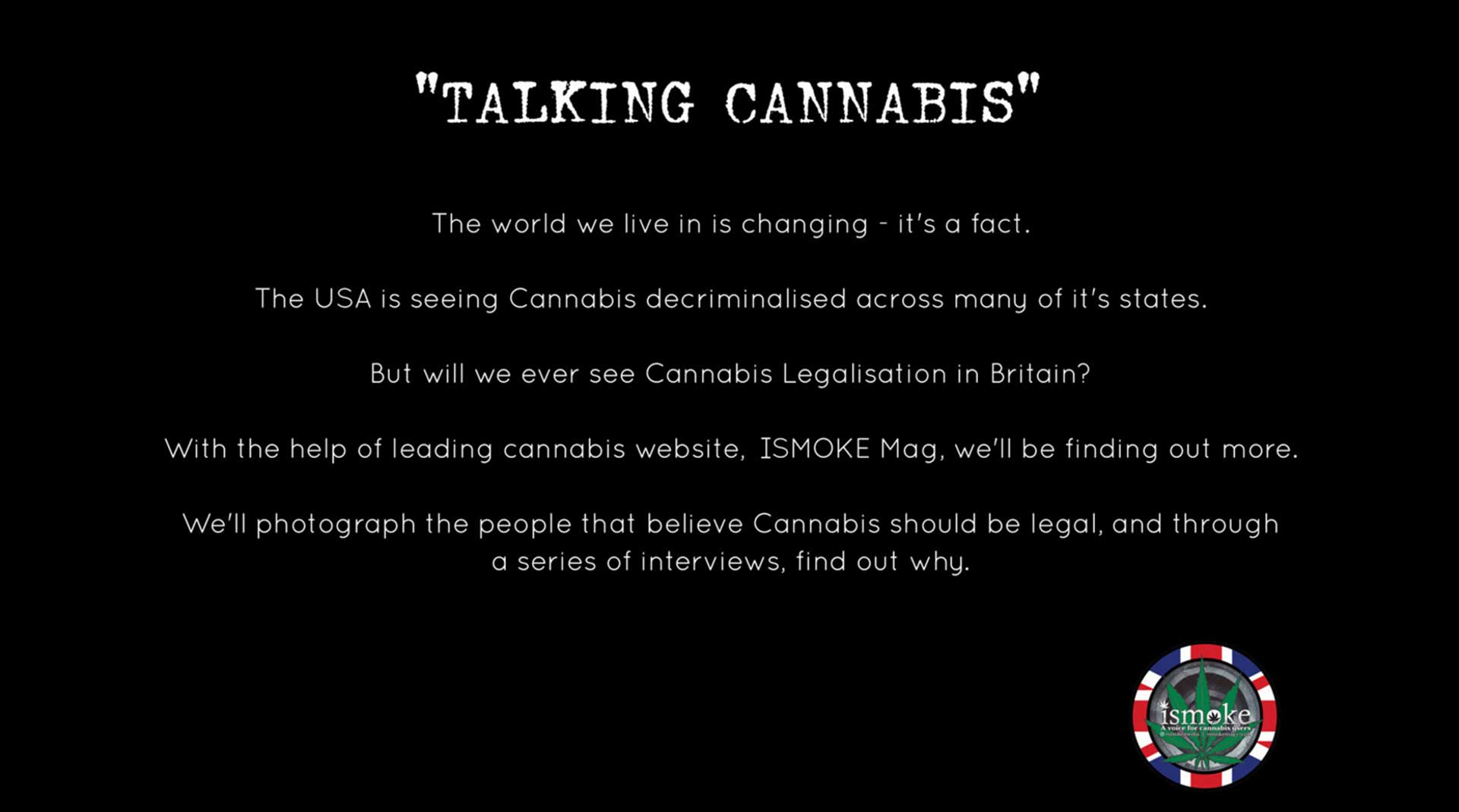 , These People Think That Cannabis Should Be Legalised In The UK. This is Why