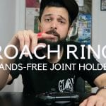 These Roach Rings allow hands-free joint smoking. Youtube giveaway time!