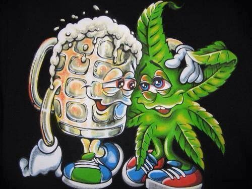 , Why is alcohol legal when cannabis isn't?