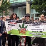 We attended the Cardiff Global Cannabis March 2017