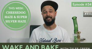 Cheesedog Haze & Super Silver Haze - Wake and BAke Episode 34