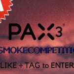 Win a PAX 3 in This Week's #ISMOKECOMPETITION!