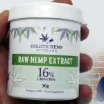 Organic CBD Paste from Holistic Hemp Scotland