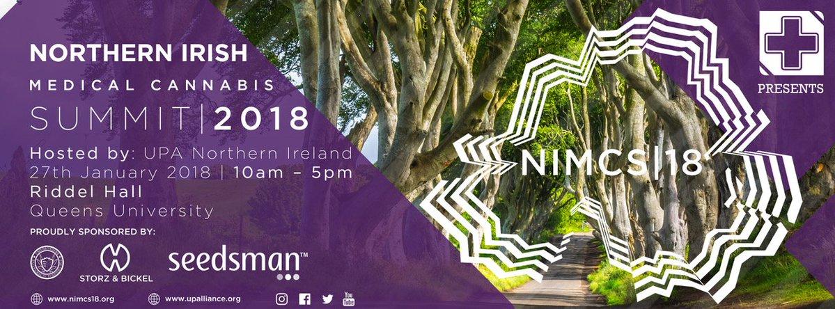 , UPA Forthcoming Northern Irish Medical Summit 27th Jan 2018