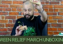 Green Relief [March Edition] ISMOKE Unboxing