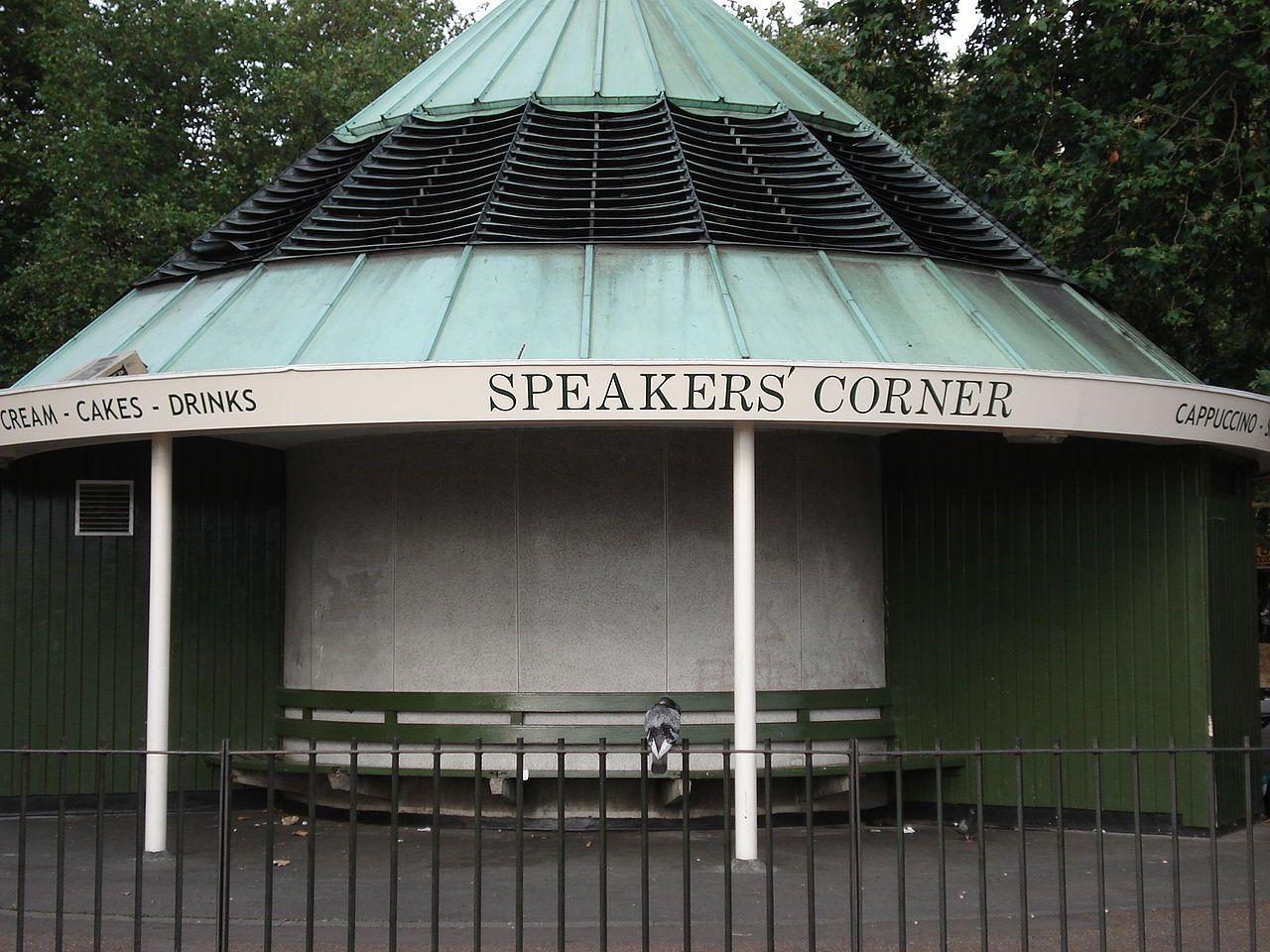 Hyde Park Speakers Corner