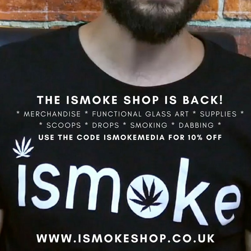 The ISMOKE Shop is back! Use the code ISMOKEMEDIA for 10% off and Free Delivery on UK orders over £50!
