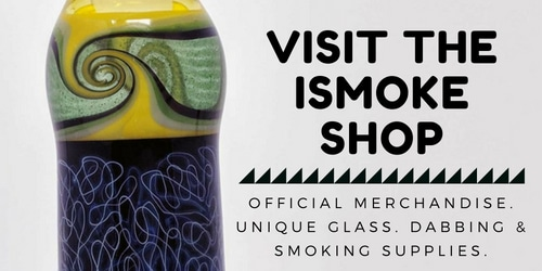 The ISMOKE Shop is back! Use the code ISMOKEMEDIA for 10% off & Free Delivery on UK orders over £50!
