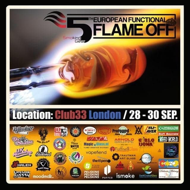 , Upcoming Glassblowing Events: European Flame off (London) & The Highland Flames (Scotland)
