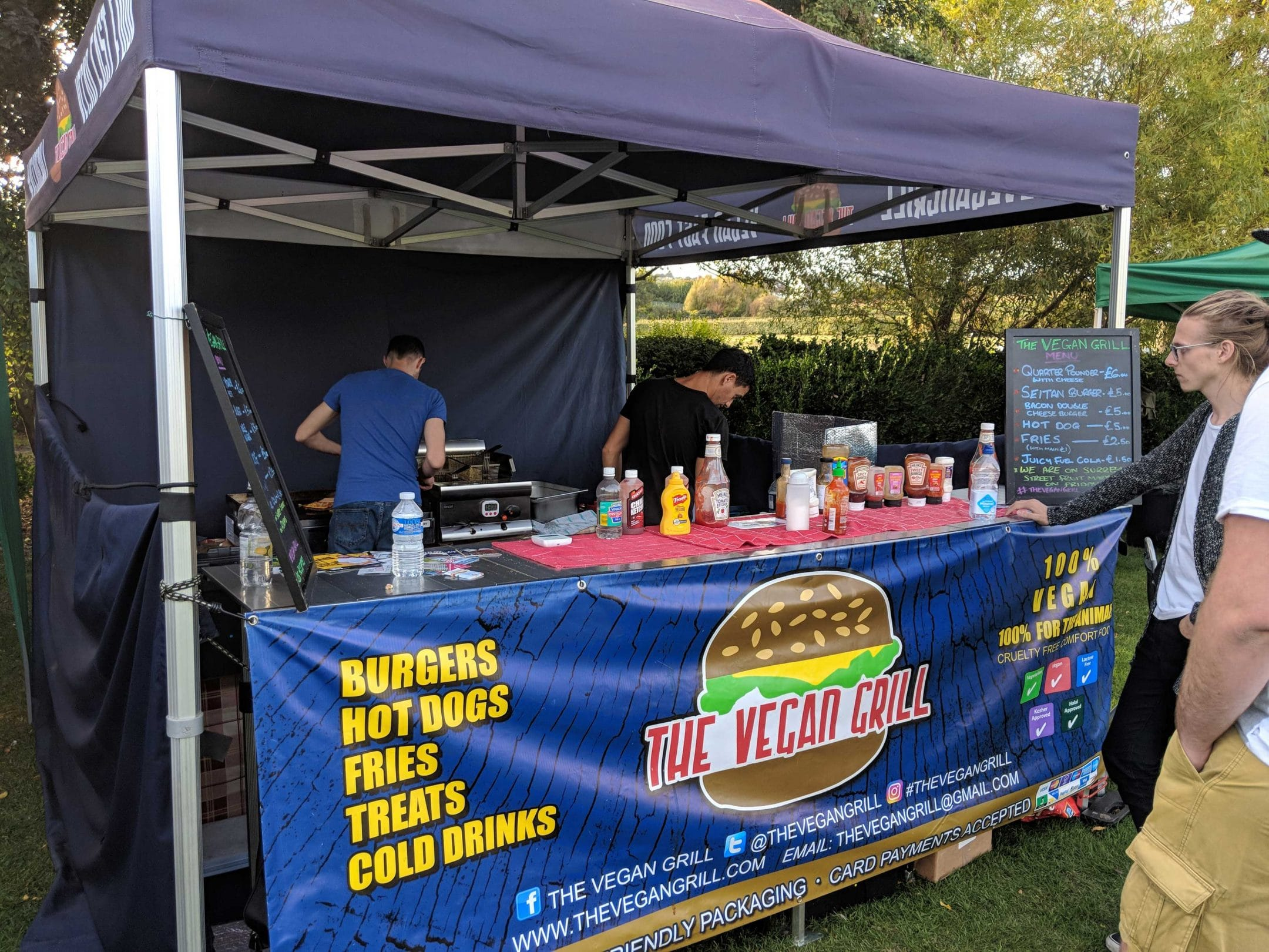 , We attended Jerk N Fire 2018 in Brighton